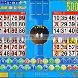 Doble Bingo Mania casino game board