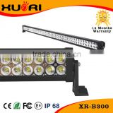 Wholesale Auto accessories 52 inch 300W dual row straight offroad led light bar for 4x4 offroad vehicles