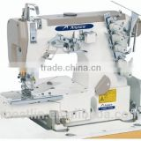 AS664-01CB High speed cylinder bed interlock sewing machine