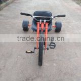 "patent design ""H"" fat drift trike RB-FHD16 pedal freewheel drift trike for adult downhill slider, pedal go kart"