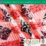 2016 new design 100% polyester printed super soft velboa fabric bed sheet fabric