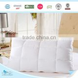 Multifunctional duck feather pillow with CE certificate duck feather pillow with high quality goose feather pillow