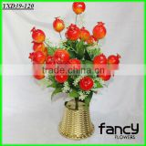 24 heads artificial plastic pomegranate plants decorated with flowers                                                                         Quality Choice