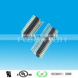 1.27mm Pitch Single Layer Single/Double Row SMD Angle Pin Header connector alibaba in China