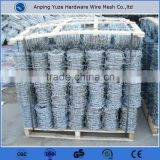 2015 Hot sale BWG14 XBWG14 Barbed wire , Galvanized Barbed Wire , BWG12 x BWG12 Barbed Wire