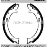 Auto parts brake system for Ford Lincoln Volvo S725-1497 F1VY-2N712-A rear brake shoes