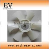 excavator engine parts 3D88E 3TNE88 3TNV88 3D88 3TN88 fan belt / fan blade