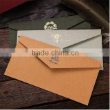 Custom high quality and fashion printed paper envelope packaging for letter,post card.