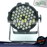 china manufacture 54 x 3w rgbw LED par 64 light up dance stages