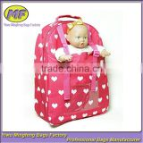 Popular Selling Great Doll Toy Gift For Girls Baby Doll Carrier Backpack                                                                         Quality Choice