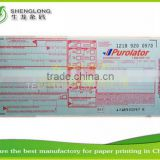 (PHOTO)FREE SAMPLE,248x102mm,80g thick paper,3-ply,separated barcode stickers,international bill of lading