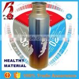 Titanium colorful eco-friendly stainless steel sports thermos water bottle