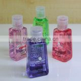 mini pocket size waterless hand cleaning gel with clip / customize antiseptic hand gel with clip