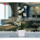 factory price artificial silk phalaenopsis orchid plants