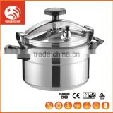 double handle stainless steel pressure cooker Aluminium pressure cooker induction pressure cooker rice 3~12 liter
