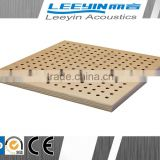 wooden acoustical perforated panel prices gypsum board thermal insulation ceiling tiles