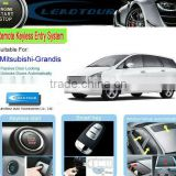 Chinese Manufacturer Supply Can Bus Passive Keyless Entry and Car Alarm System for Mitsubishi Grandis
