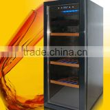 80L glass door mini bar fridge for hotel