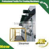 bleaching steam box machine for textile after printing treatment
