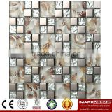 IMARK Mosaic by Electroplated Mosaic Tiles and Laminated Mosaic Tiles for Wall Decoration Code IXGM8-079