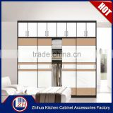 Double color wardrobe design furniture bedroom chinese antique furniture wedding wardrobe