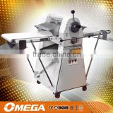 OMEGA manual dough sheeters used by small to medium sized bakeries