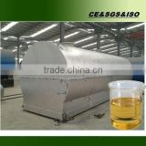 Advanced technology with free installation auto recycling waste oil distillation machine