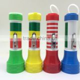 tiger head plastic led flashlight torch world export-ftp9910