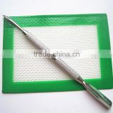 Custom FDA approved food grade non stick small oil slick silicone pad for sticky products
