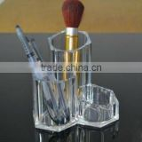 Clear Acrylic Cosmetic Brush Storage Box