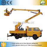 CE Certificated 3.5m mobile diesel powered boom lift/ Articulated Trailer Mounted Arm Lift