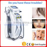 2016 Most popular beauty equipment 4in1 RF/OPT/Laser/Elight Hair Removal Machine
