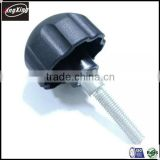 good price plastic head bolt knob with threaded bolt