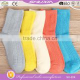 SX-209 bulk wholesale cotton ankle sport socks women and young girls yoga socks china custom bamboo socks manufacturer factory