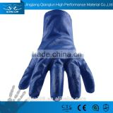 QL pvc gloves acid alkali oil resistance gloves