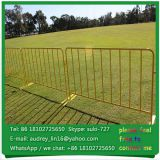Hot dipped galvanized metal road safety barricade constuction temporary barricades for sale