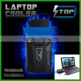 Shenzhen factory Univeral Air ejector fan laptop Cooling pads