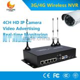 3g 4g wireless NVR router with external antenna 3g mobile NVR video surveillance solution for Remote ATM Vending Machine Kiosk