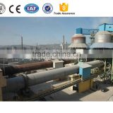 New product 1000t/d active lime carbon rotary kiln supplier in China