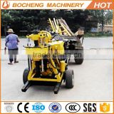 cheap water well drilling rig/small portable borehole drilling machines/portable soil drilling machine