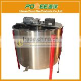 Hot sale stainless steel 24 frames electric Honey extractor with vertical/horizontal moto for beekeeping