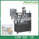 The newest QGGF-60YP China aluminium tube filling and sealing machine price