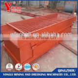 Hot Sale New Designed Portable Pulsating Gold Sluice Box /Vibrating Sluice Box for Mining Placer Gold