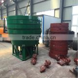 Two Rollers Wet Pan Grinding Machine for Gold Sudan Industrial Two Wheel Ore Grinding Machine
