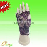 Lowest Price Black Lace Fingerless Glove