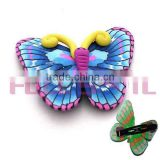 polymer clay Hair Clip and hair accessory for kids/butterfly decoration