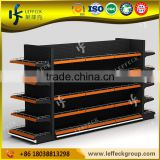 Chinese manufacturer commercial metal gondola liquor store shelving