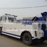 best price dongfeng Tianjin Euro4 diesel 180HP wheel lift road wrecker