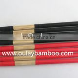 Rubber caps bamboo drumsticks for sale