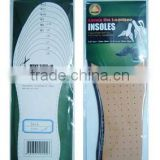 Soft anti slipping strengthen cork shoe insoles